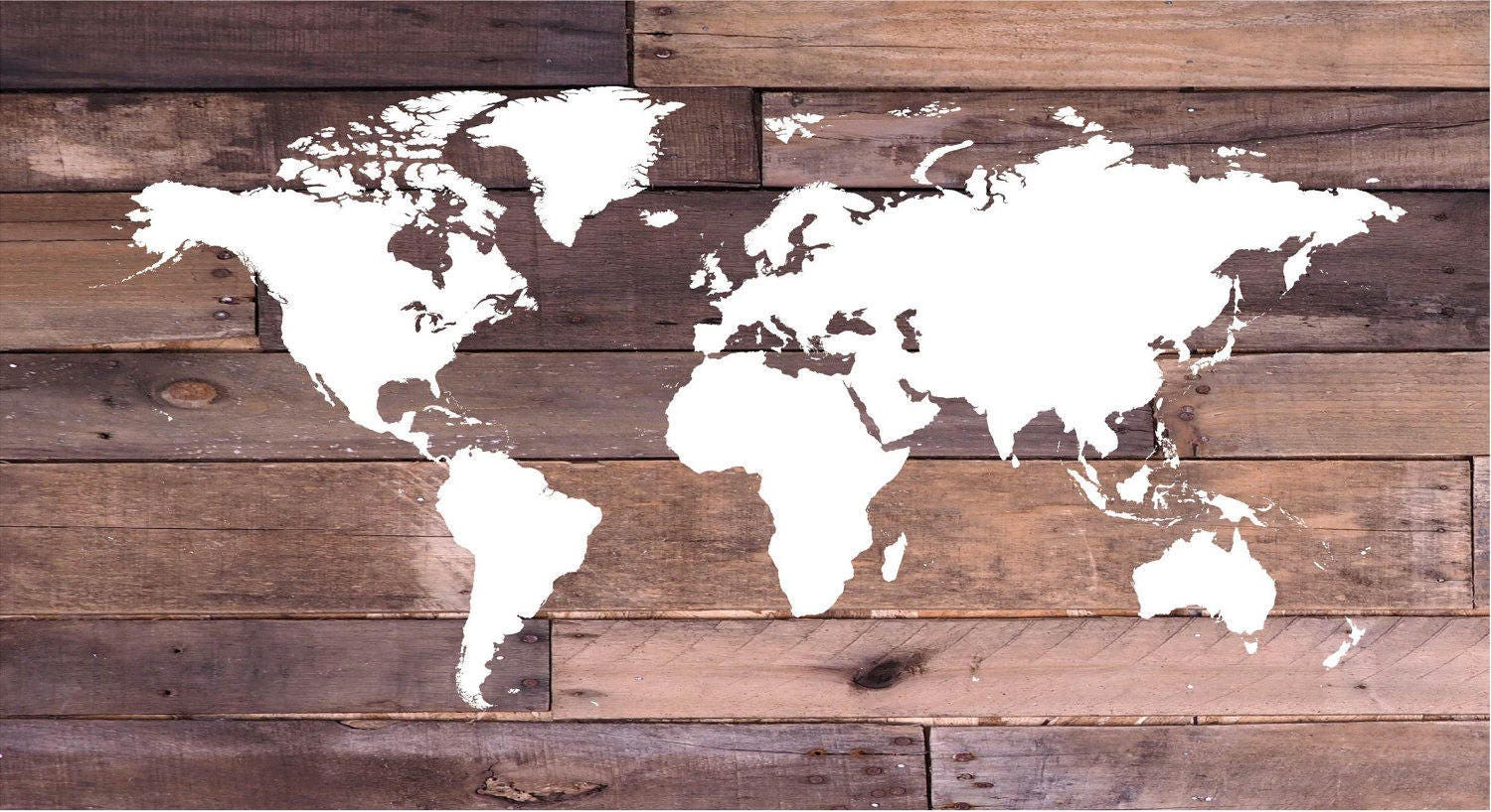 Reclaimed wood world map wall art canvas wall art wood sign reclaimed wood world map wall art canvas wall art wood sign print nautical graduation gift christmas den decor office gumiabroncs Choice Image