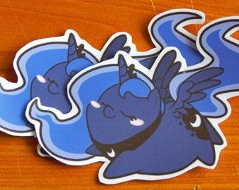 Chub Pony! Luna Sticker