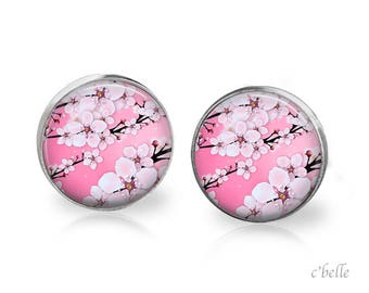 Earrings cherry blossoms 64