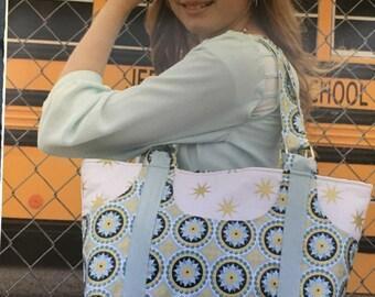 PocketFull Tote Purse Pattern by Tiny Seamstress Tiffany Jenkins