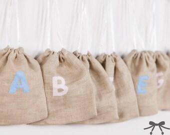 Montessori Sound Bags, Montessori Language Material, Alphabet