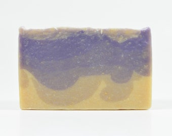 Lavender Flowers Goat Milk Soap - All Natural Soap, Handmade Soap, Homemade Soap, Handcrafted Soap