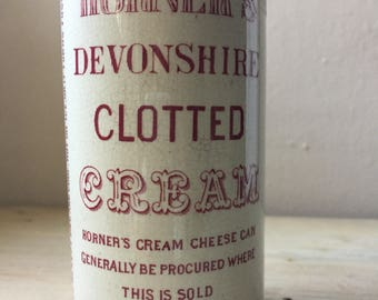 RESERVED - Horner's Devonshire Deep Rose Pink Clotted Cream Pot