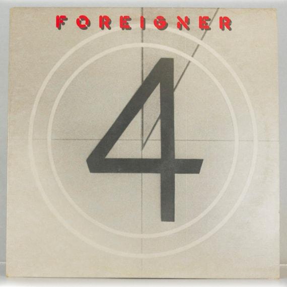 Foreigner - 4 Album Atlantic Records 1981 Original Vintage Vinyl Record