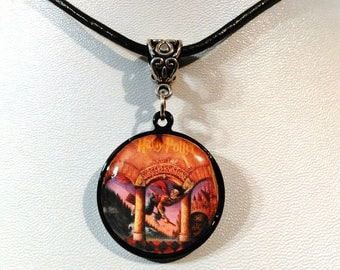 Harry Potter leather cord necklace
