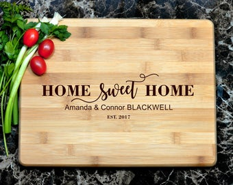 Personalized Cutting Board Personalized Custom Cutting Board Wedding Gift Cutting Board Engraved Cutting Board Anniversary Cutting Board
