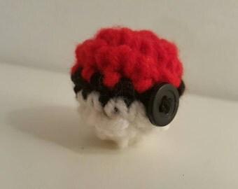 Items similar to Perfect Pokeball amigurumi on Etsy