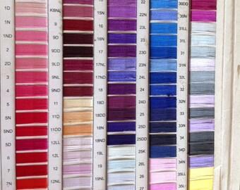 100 Spools Art Silk Threads, machine Embroidery Threads Threads,Indian Threads,Embroidery Threads, Bulk Silk Threads, Wholesale Silk Threads
