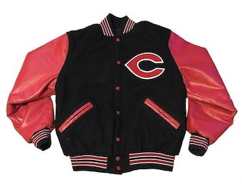 Vintage Cincinnati Reds Letterman Jacket - M