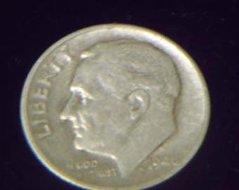 1948 S Roosevelt Dime- Silver