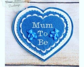 Mum To Be Badge, Baby Shower, Mum To Be