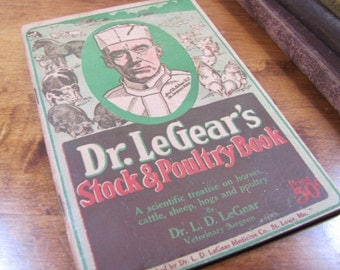 Dr. LeGear's Stock & Poultry Book - 1918 Edition