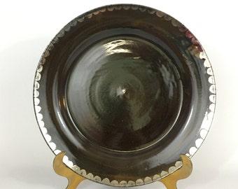 Metallic Serving Platter, Extra-large