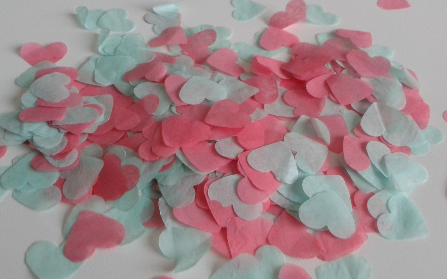 1500 pieces handmade biodegradable wedding confetti coral ...