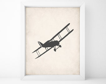 Airplane Printable 8 x 10