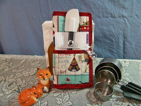 Home is where you park it! Pot Holder Gift Set