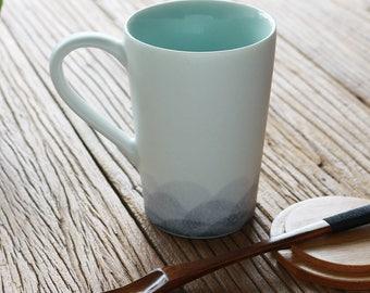 Chinese Porcelain Mug Ceramic Milk Mug China Tea Mug, Free Shipping