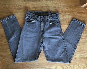 Levis 550 Stone Wash Jeans Made in USA 31x34
