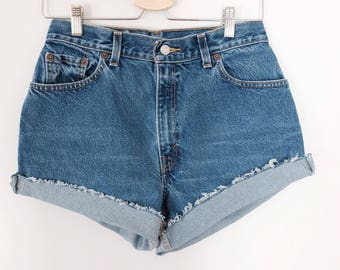 Vintage Levi denim cut-offs