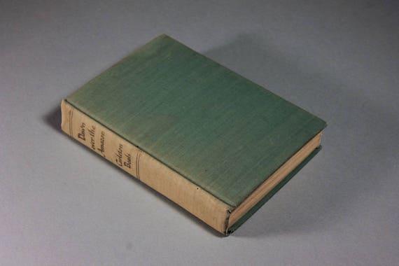 1943 Hardcover Book, Dawn Over The Amazon, Carleton Beals, Fiction, Literature, Romance, World War II, Suspense Novel