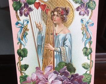 Vintage Valentine Postcard ca. 1907