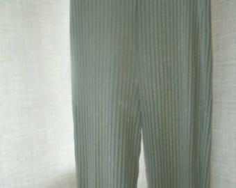 Silver Lame Lounge Pants