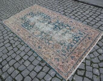 Anatolian rug,46''x81''-116x205cm n.:359