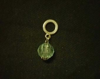 Crystal dreadlock bead
