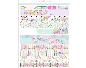 Spring Fever Washi Strip Stickers