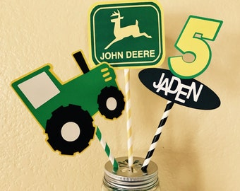 Farm Tractor Centerpiece for Party or Home