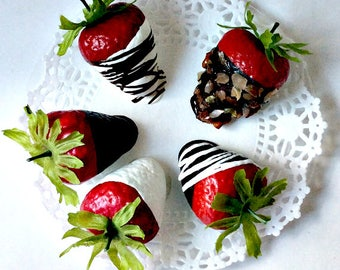 Delectable Strawberries - Fake Food that Looks and Smells Real!