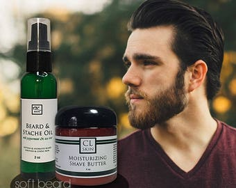 Beard & Stache Oil