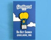 Simpsons Big Butt Skinner Pin Soft Enamel 90s Gifts