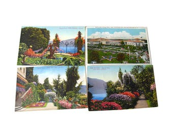 Scenic Tinted Photograph Postcard Lot - Vintage Postcards - Vintage Ephemera - Souvenir Post Cards - Old Postcards - Collectible Postcard