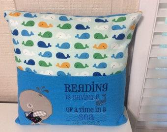 Kids Pocket Reading Pillow