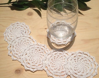 Crochet lace coaster/ dolies