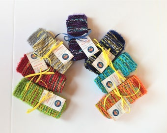 Set of 2 Knit Dish / Wash Cloths