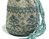 50 OFF Pineapple Bead Crochet Jewelry Bag Kit