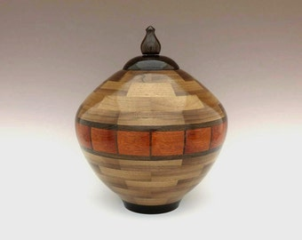how to build a wood cremation urn