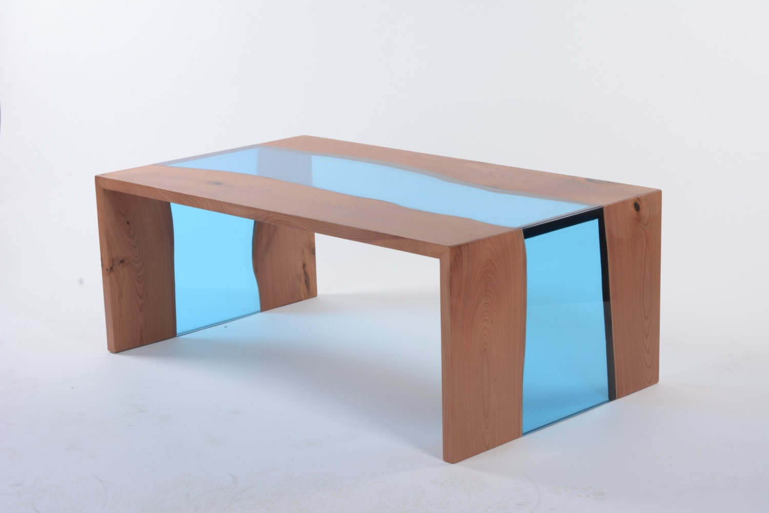 Modern Coffee Table Live Edge Coffee Table By