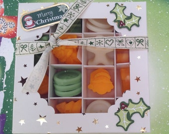 Wax melts...with Christmas scents and shapes!