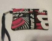 Handmade Dale Earnhardt Jr.  Design Print Wallet Wristlet Phone Case with strap
