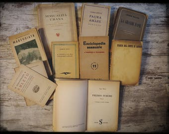 LOT of old books (1940/1960)