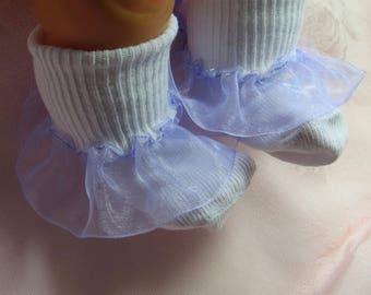 Ruffled Socks Little Girl's Socks Girls Socks  Easter Socks Toddler Socks Valentine Socks Infant Socks Frilly Socks Baby Gift Newborn Socks