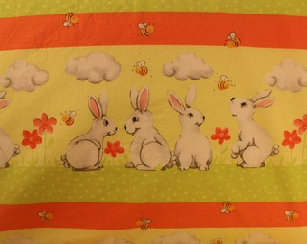 Bunnies and Carrots Standard PIllowcases
