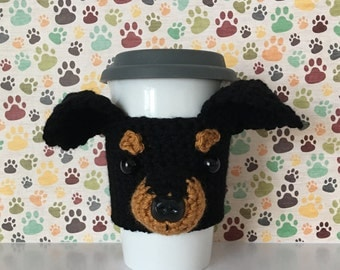 Miniature Pincher - Pincher - Min Pin Gifts - Dog Mug (Cozy) - Fur Baby - Dog Lover Mug (Cozy) - Dog Cup (Cozy) - Fur Mama - Crazy Dog Lady