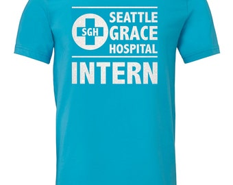 Greys Anatomy Shirt, Greys Shirt, Meredith Grey, Christina Yang, Alex Karev, George O'Malley, Izzie Stevens, Seattle Grace Hospital, Doctor