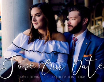 Custom Save The Date or Announcement