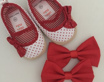 SWEETHEART RED BOWS