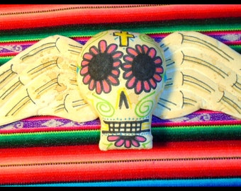 Day of the Dead Sugar Skull Wall Hanging Karen Day